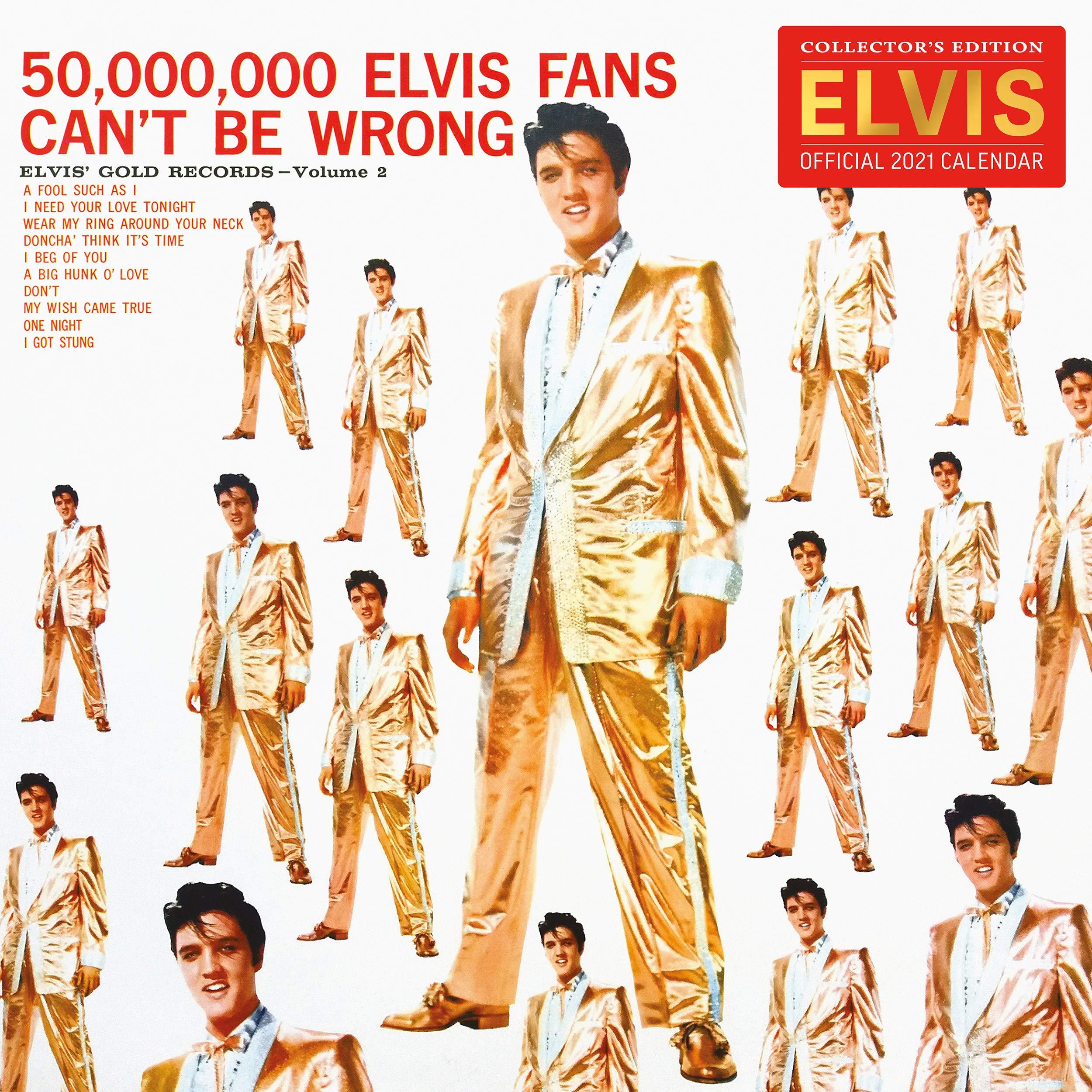 Elvis 2021 Calendar A3