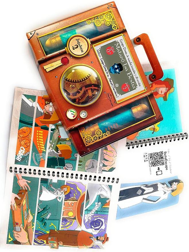 Regala Caja Experiencia Escape Room. Un Regalo Original, Diferente y Divertido. Una experiencia inolvidable. Personaliza tu regalo escogiendo Ciudad (Mataró (Barcelona)) : Amazon.es: Juguetes y juegos