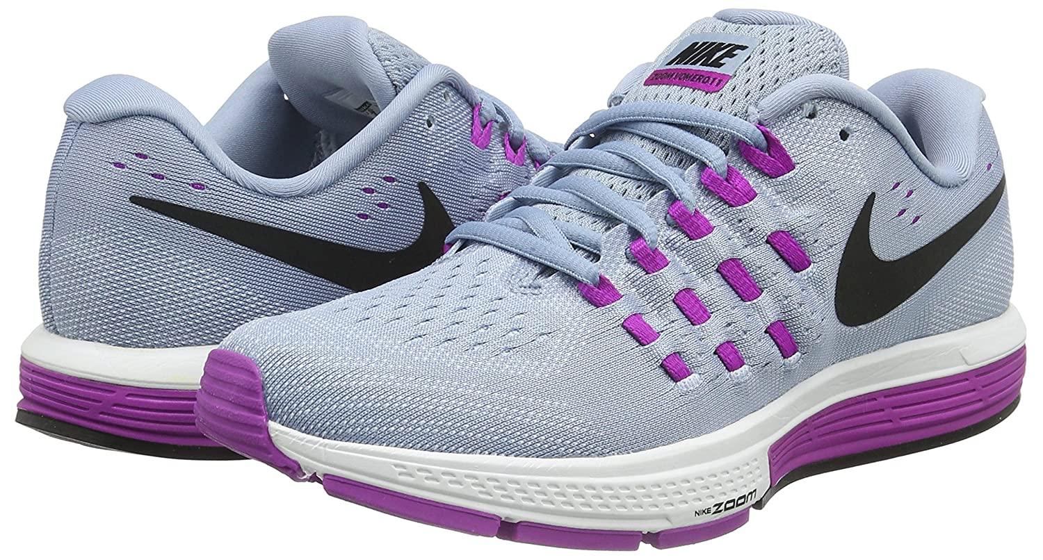 Amazon.com | Nike Air Zoom Vomero 11 Blue Grey/Hyper Violet/Blue Tint/Black Women's  Running Shoes | Road Running