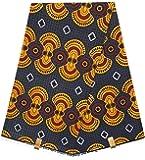 HITARGET Wax Pagne Tissu Africain Collection Original 6 Yards Super Cire imprimé Top qualité 100% Pur Coton réf SH