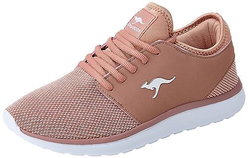 KangaROOS Sumpy, Zapatillas para Mujer, Rojo (Rose 6400), 40 EU: Amazon.es: Zapatos y complementos
