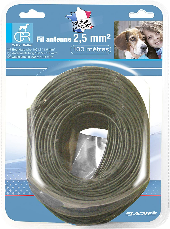 Lacme - Lacme Fil Antenne 100 M 2.5 Mm² (Pack Reflex)