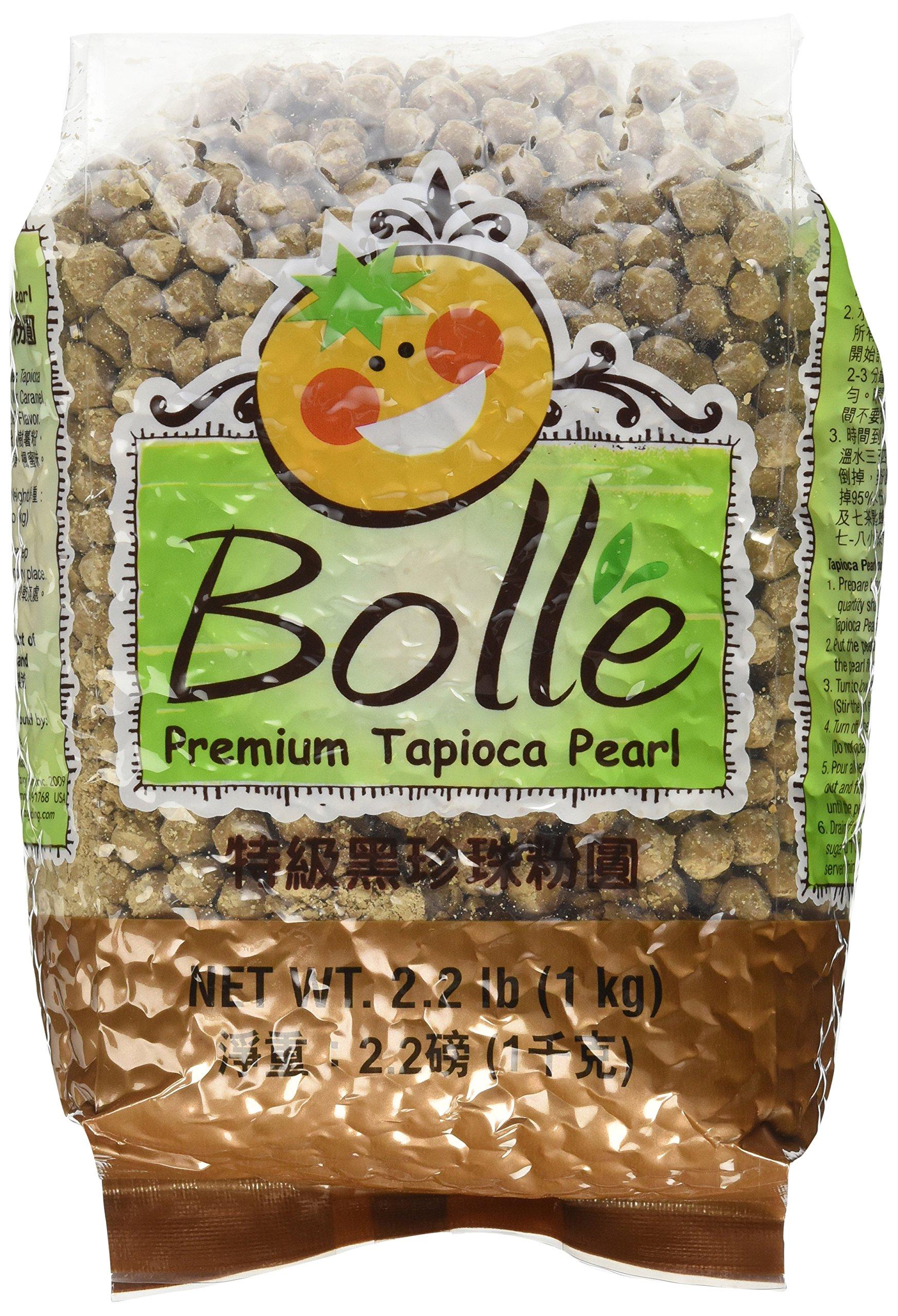 BOLLE - Boba Bubble Tea Tapioca Pearls 2.2 Lbs. by Bolle