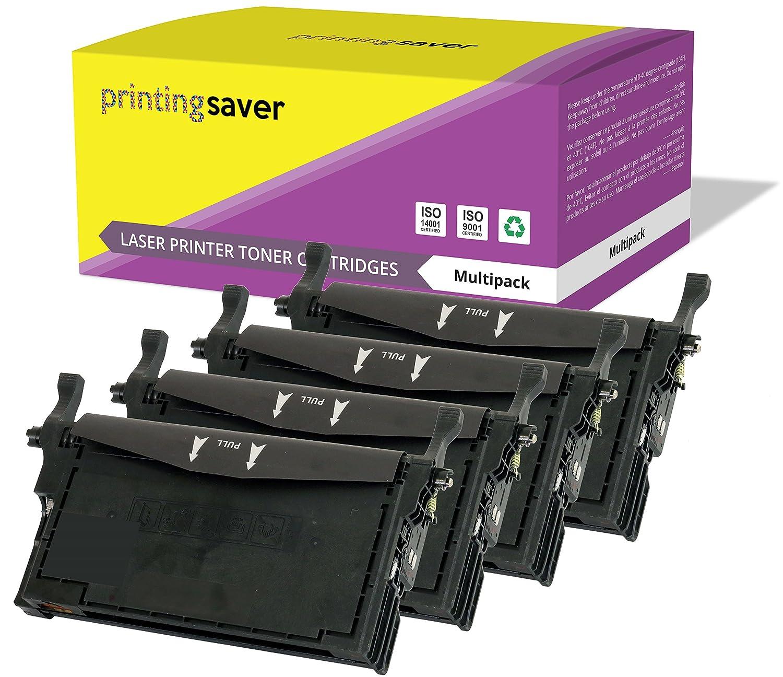 2 Negro CLT-K508L Tóners compatibles con CLT-K508L Negro para Samsung CLP-620ND CLP-670N CLP-670ND CLX-6220FX CLX-6250FX 299d3b