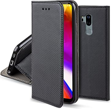 Moozy Funda para LG G7 ThinQ, LG G7 Plus, Negra: Amazon.es ...