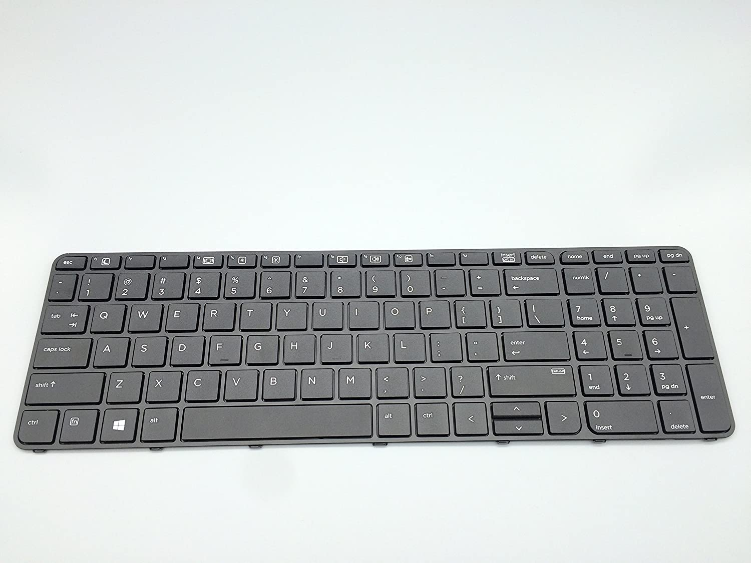 Replacement Keyboard for HP ProBook 450 G3 / 455 G3 / 470 G3 Laptop with Frame No Backlight