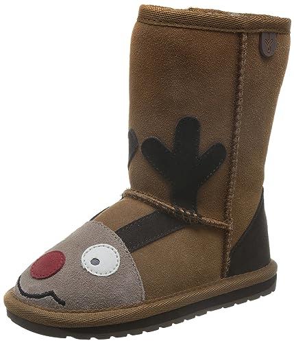02495729b6930a EMU Australia Kids Reindeer Deluxe Wool Boots Size 2