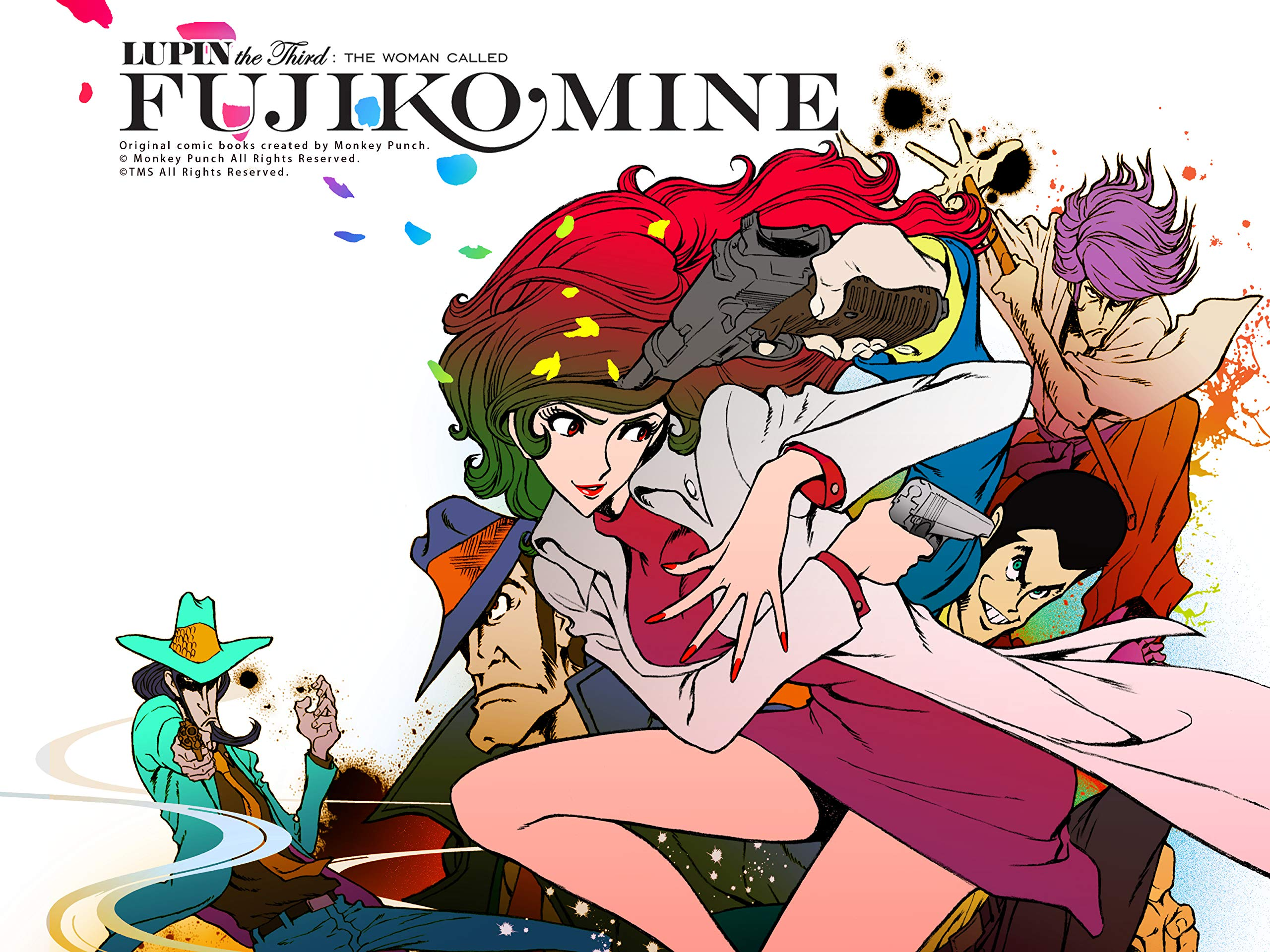 Image result for lupin the woman called fujiko mine
