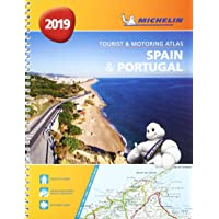 Spain & Portugal 2019 - Tourist and Motoring Atlas (A4-Spirale): Tourist & Motoring Atlas A4 spiral