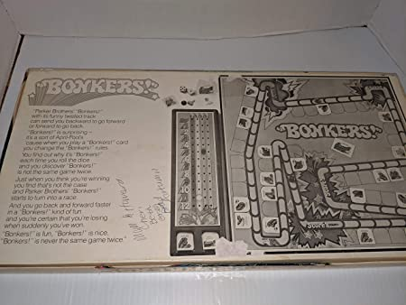 Its Never the Same Game Twice Bonkers Parker Brothers VINTAGE GAME 1978 Its Unpredictable! Its Zany