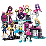 Mega Bloks Monster High Glam Ghoul Band Building Kit