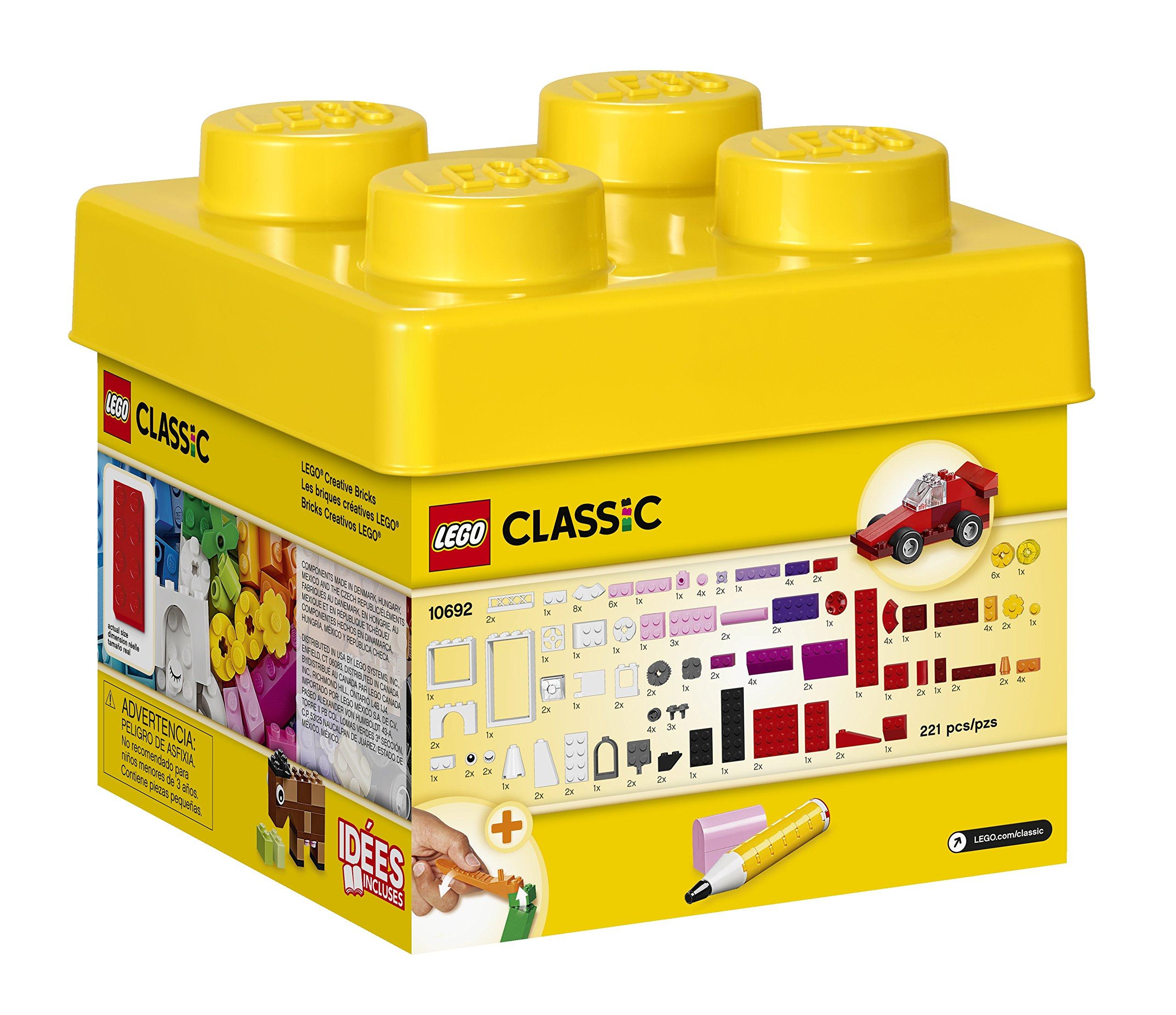 LEGO Classic Creative Bricks 10692 Building Blocks, Learning Toy by LEGO (Image #3)