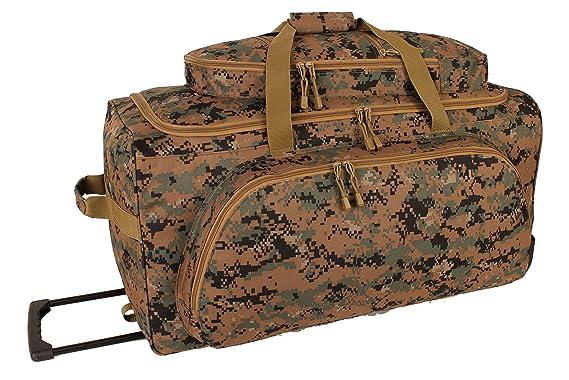 1af0be446a34 Amazon.com  Marpat Digital Woodland Rolling Duffle Bag  Clothing