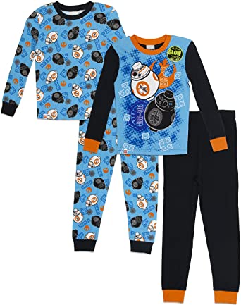LEGO Star Wars Boys Big 4-pc Pajama, 2 Sets - Long Sleeve