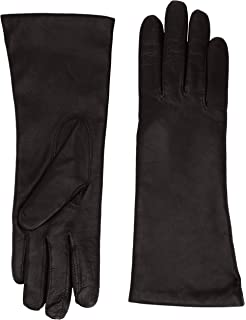 ec95ddb67 Dents Ladies Black Leather Gloves - Cashmere Lined: Amazon.co.uk ...