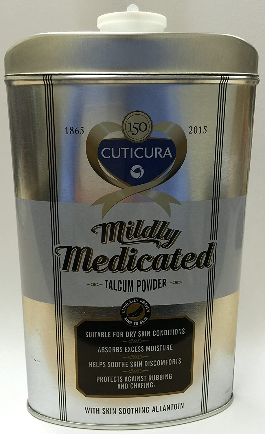Cuticura Mildly Medicated Talc 250g **3 PACK DEAL**