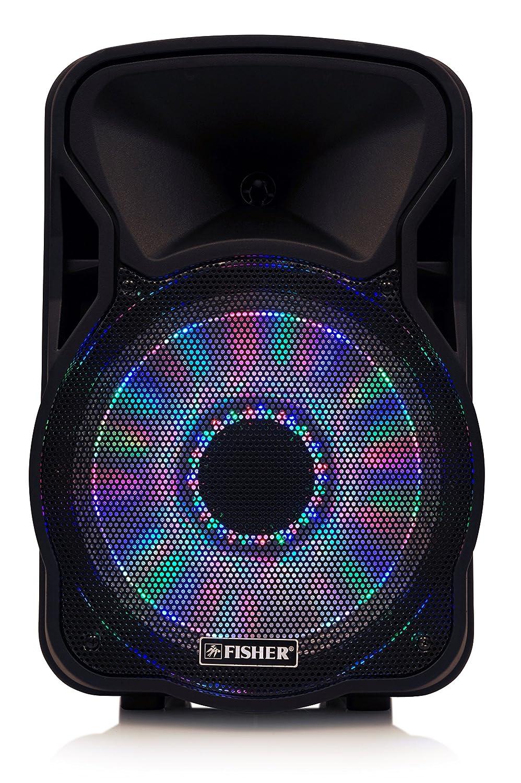 Amazon.com: Fisher Wireless Portable PA Speaker with 300 Watts Super ...