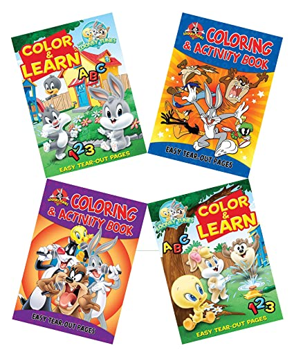 Amazon.com: Clever Home Set of 4 Looney Tunes and Baby Looney Tunes ...