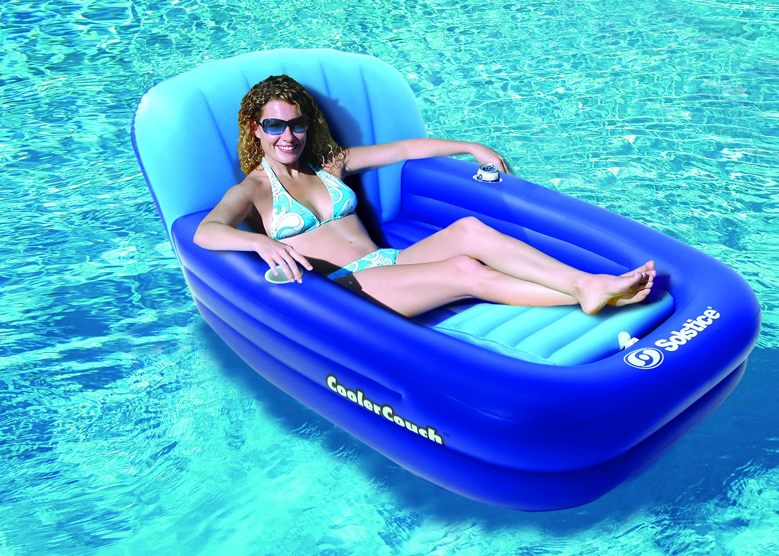 Solstice by Swimline Cooler Couch Inflatable Pool Lounger by Swimline (Image #2)