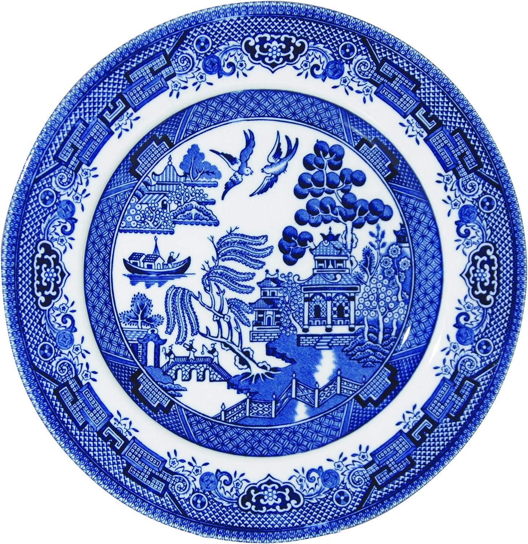 c/éramique Multicolore Churchill Blu Willow Mint Assiette 17/cm 17/x 17/x 1/cm