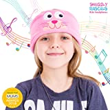 Snuggly Rascals (v2) Kids Headband Headphones - Ultra-Comfortable, Volume Limited and Size Adjustable. (Fleece, Kitten)