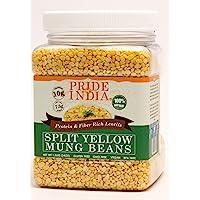 El orgullo de la India 1.5 libras-Split amarillo
