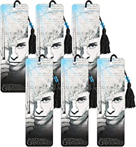 Fantastic Beasts: The Crimes of Grindelwald Party Favors Bundle - Fantastic Beasts Bookmark Set Includes 6 Bookmarks for Gifts, Party Supplies, School Supplies (Fantastic Beasts Merchandise)