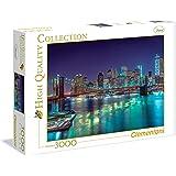 Clementoni - 335442 - Puzzle - New York, la nuit - 3000 Pièces