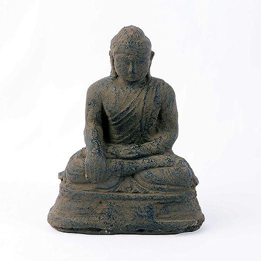Sitting Buddha Ornament Statue Garden Home Decoration Indoor Outdoor Figurine