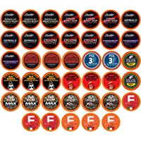Two Rivers Coffee Bold & Dark Roast Coffee Pods, Compatible with 2.0 Keurig K-Cup Brewers, Assorted Bold Variety Pack…