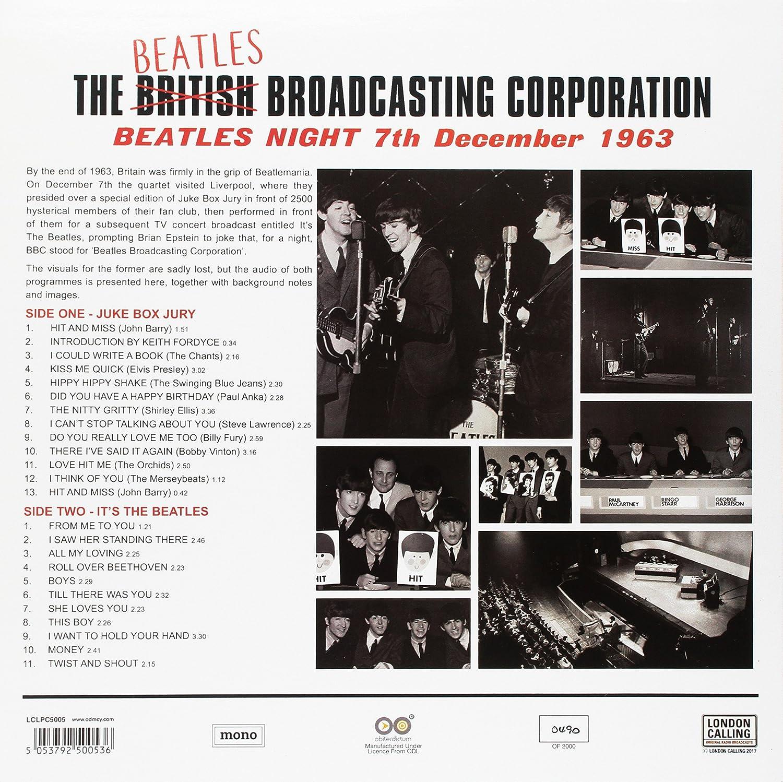Beatles Night 7th December 1963 (180 Gr Blue Viny [Vinyl LP] - the