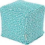 Majestic Home Goods Pacific Towers Cube, Small, Turquoise