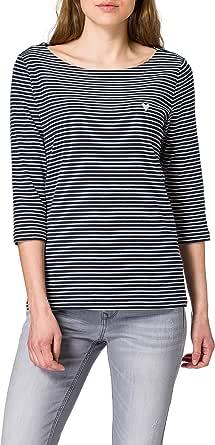 TOM TAILOR Stripe Camiseta para Mujer