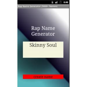 Free Rap Name Generator Amazon Ca Appstore For Android
