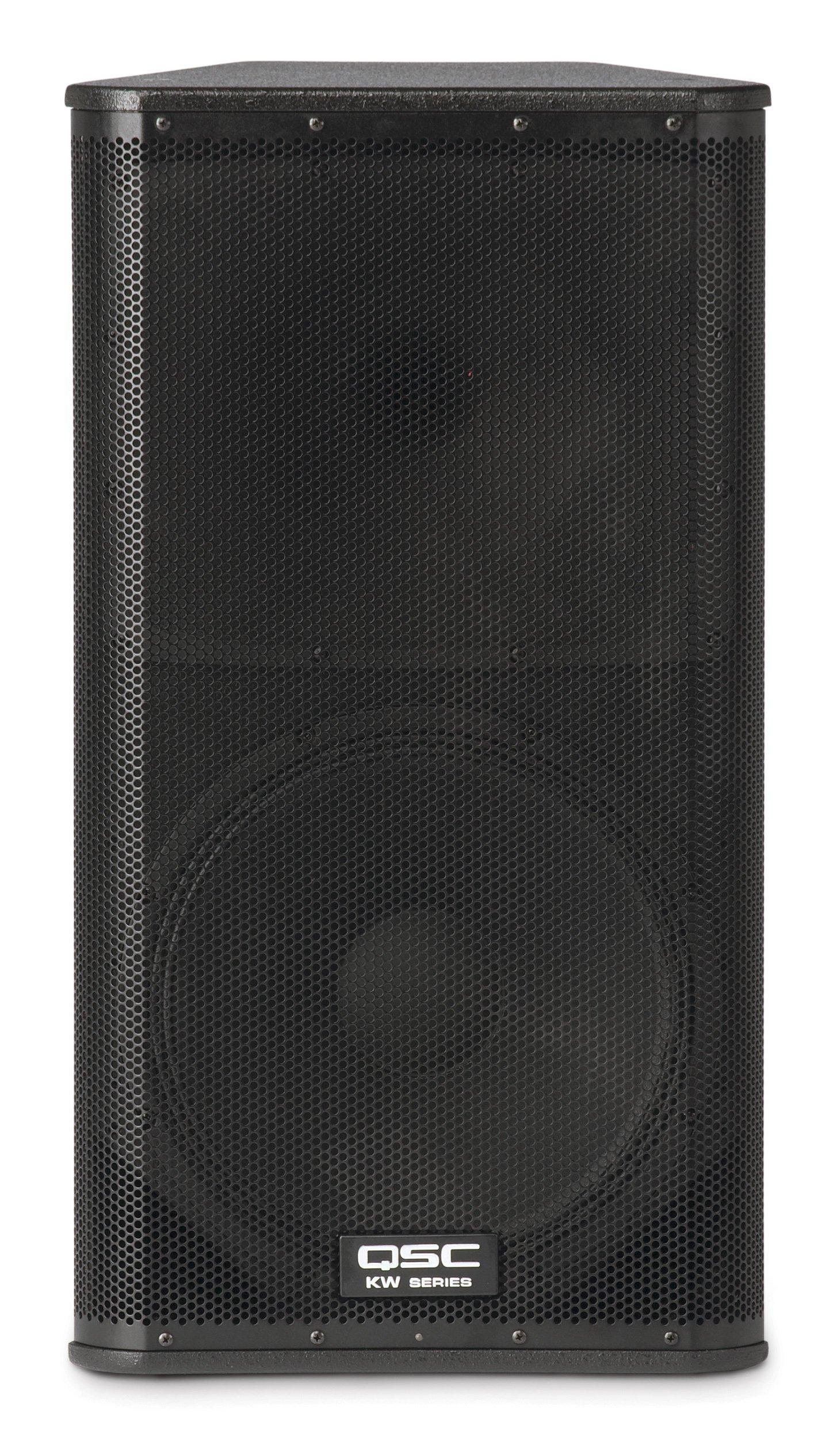 QSC KW152 1000 Watts 15-Inch 2-Way Powered Loudspeaker
