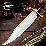 Gil Hibben Old West Bowie Knife - Bloodwood...