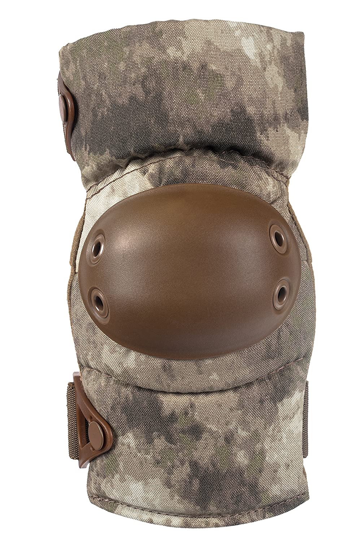 A-TACS AU Cordura Nylon Fabric AltaLOK Fastening Coyote Round ALTA 53113.18 AltaCONTOUR Elbow Protector Pad Flexible Cap