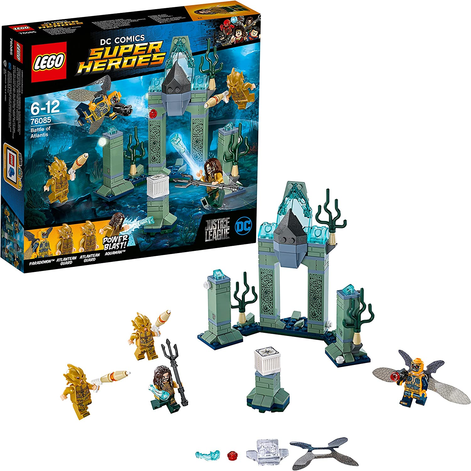 LEGO Super Heroes ATLANTEAN GUARD Minifigure from 76085