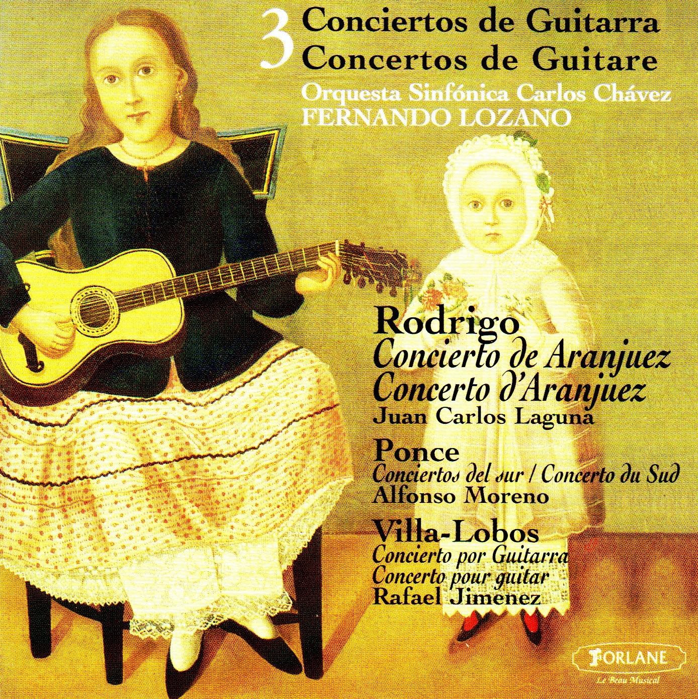 Tres Conciertos De Guitarra: Moreno, Jimenez: Amazon.es: Música