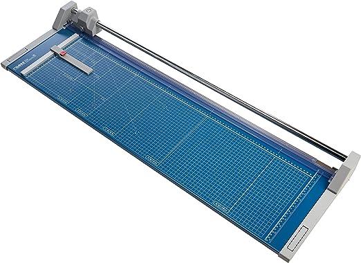 Dahle - Cizalla para papel (121 x 44,5 x 15 cm, longitud de corte 960 mm, capacidad de corte 1 mm, tamaño A1), color azul: Amazon.es: Oficina y papelería