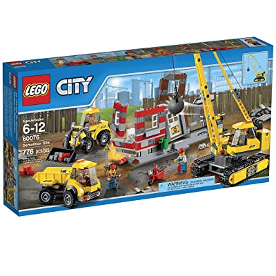 LEGO City Demolition Site (60076): Toys & Games