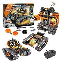 CIRO Remote Control Car, 3 in 1 STEM Building Kits Robot Toys for Boys 6-12 Year Old Gifts (392Pcs)