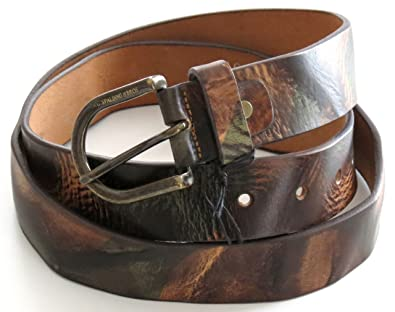 AG Spalding   Bros Ceinture Army en cuir Terre nuancée  Amazon.fr ... a579bb837db