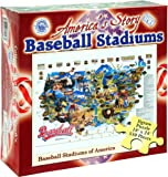 Baseball Stadiums 550 Piece Jigsaw Puzzle by Channel Craft
