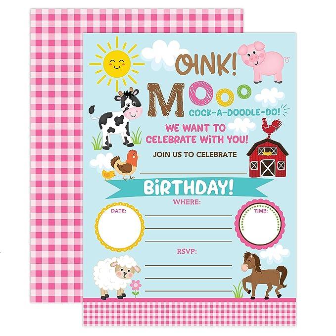 Invitaciones de cumpleaños para niña, invitaciones de ...