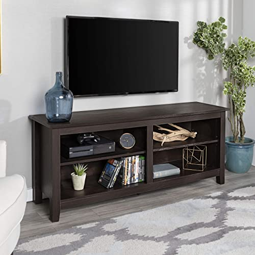 Home Accent Furnishings Lucas 58 inch Open Shelf TV Stand
