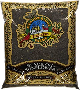 Meadow Ridge Farms Black Oil Sunflower Mix - 10 lbs