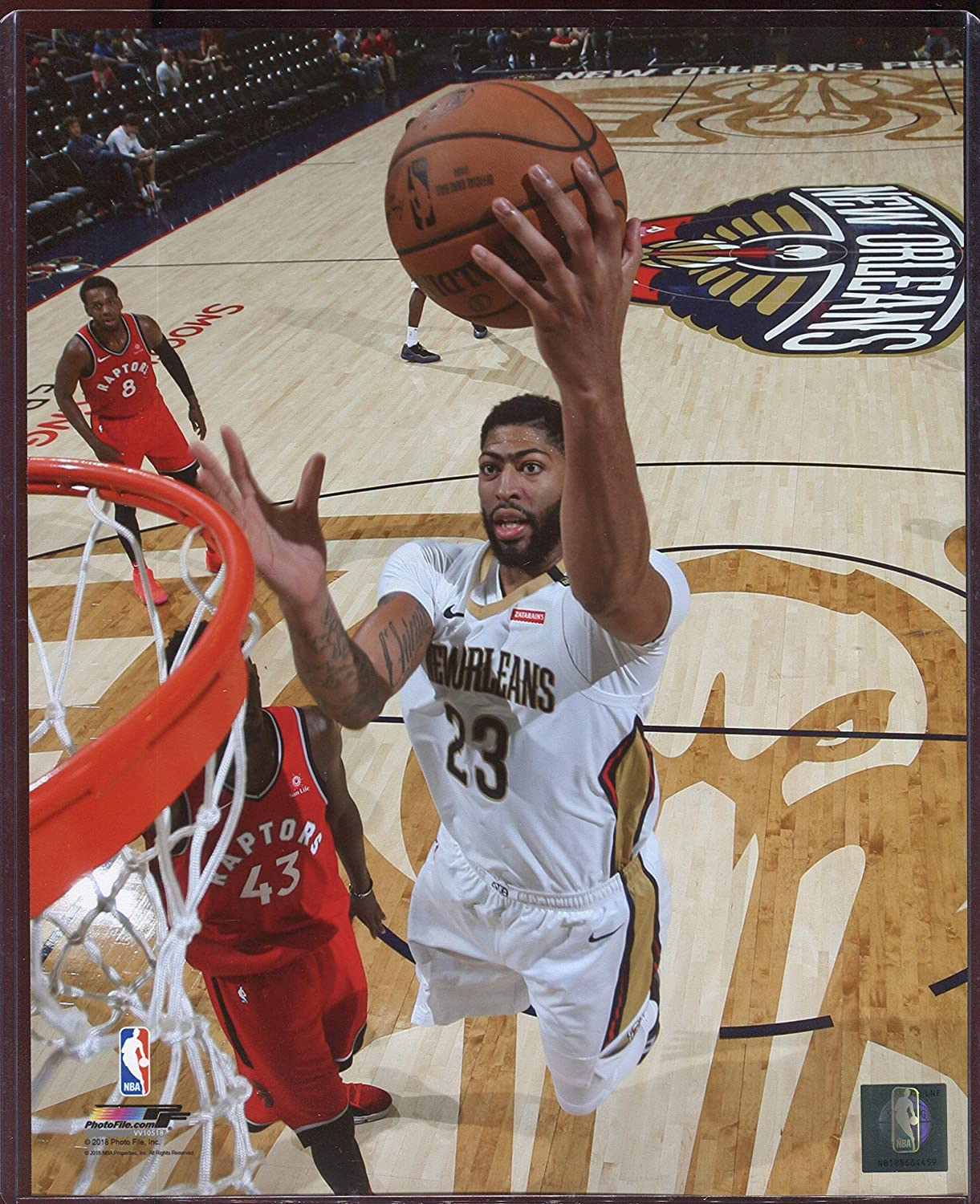 Anthony Davis Officially Licensed New Orleans Pelicans Dunk