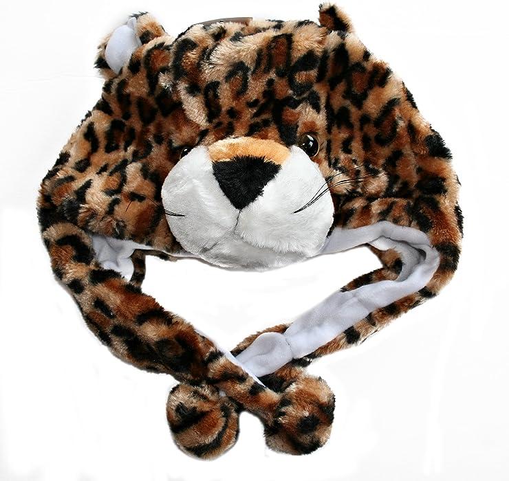 94b08023709 Amazon.com  Plush Animal Hats for Kids -  Assorted Hat-imals  Animal ...