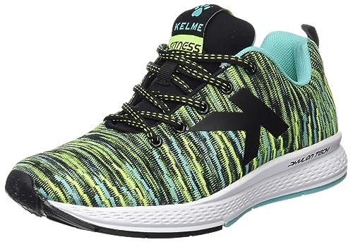 Kelme 63212, Zapatillas de Gimnasia Unisex Adulto, (Negro/Verde), 38 EU: Amazon.es: Zapatos y complementos